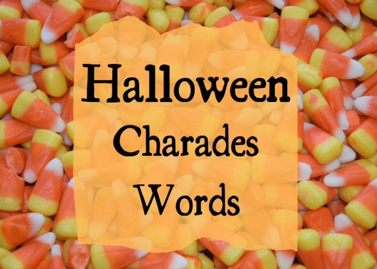 Halloween Charades Clues: Word Lists and Other Game Ideas