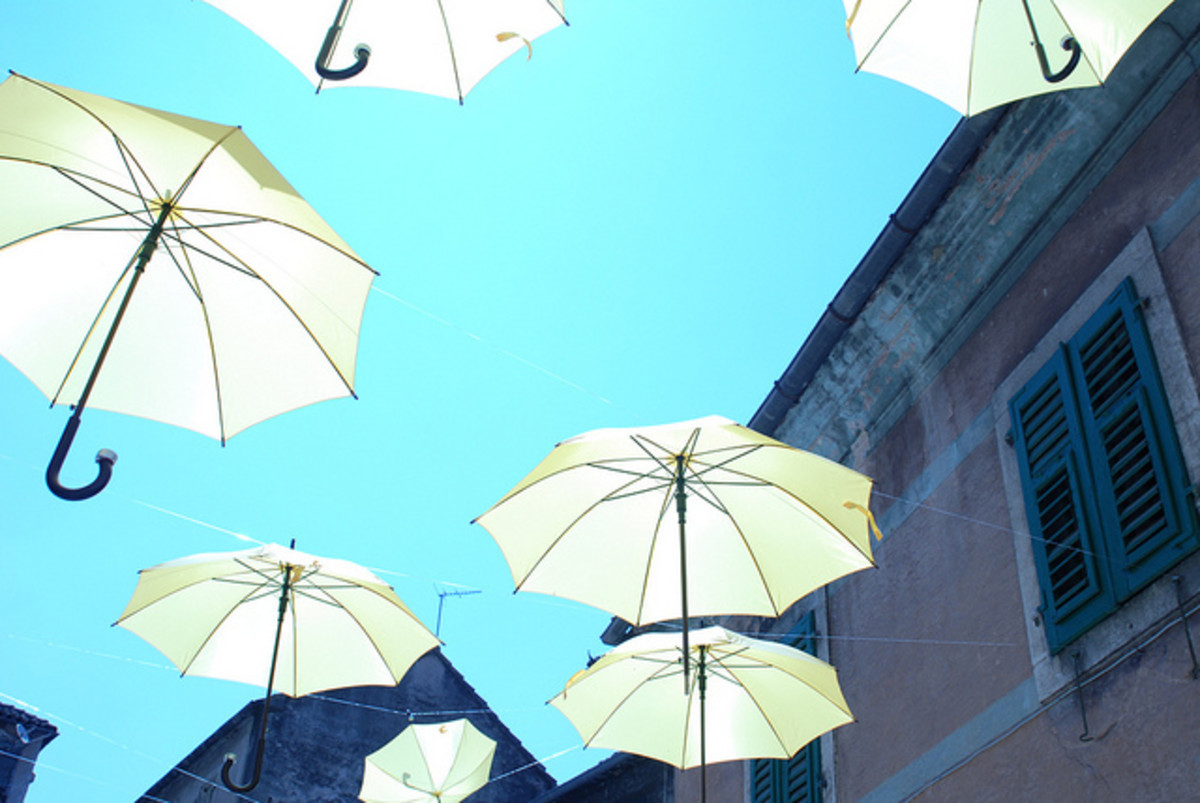 The Average Life-Expectancy of the Modern Umbrella