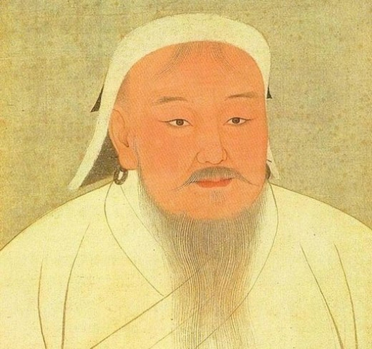 Genghis Khan was Mongol Emperor from 1206 until his death in 1227.