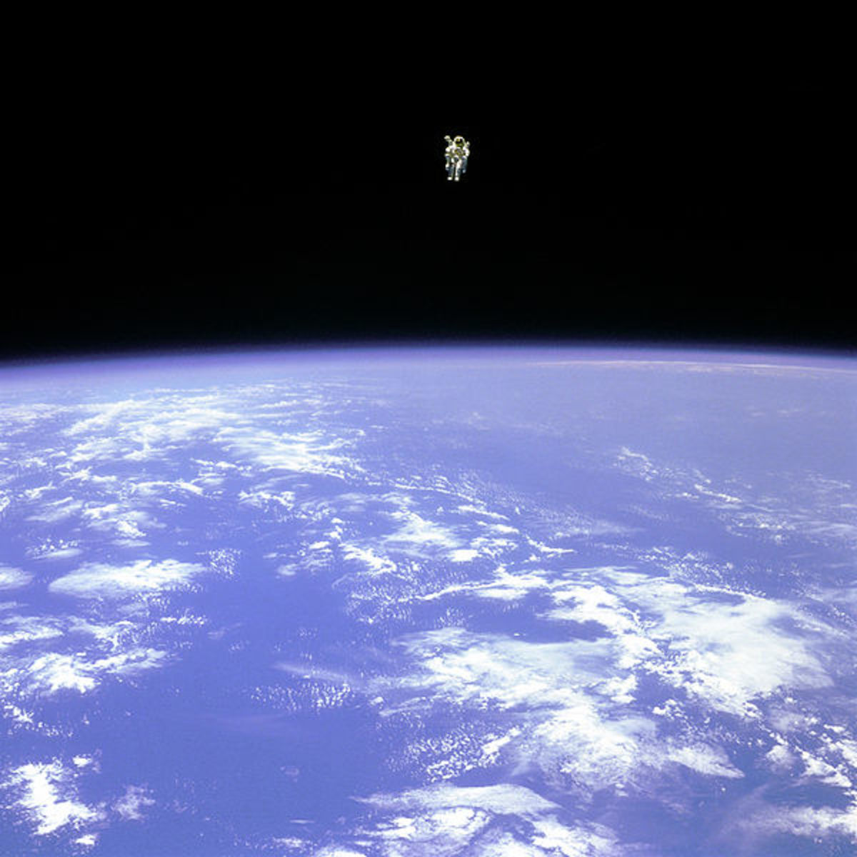 Unidentified flying humanoids appear to maneuver in our atmosphere as easily as astronauts in outer space.
