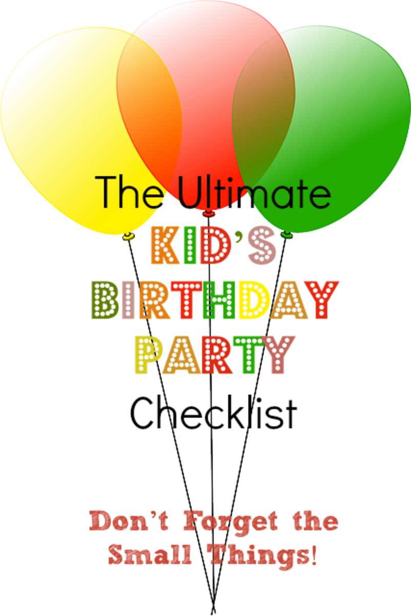 The Ultimate Kid's Birthday Party Checklist