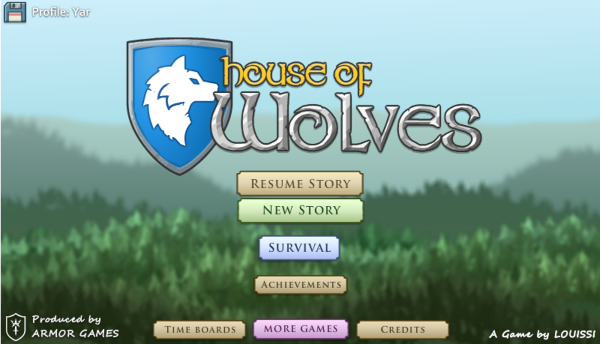 House of Wolves is owned by Louissi and Armor Games. Images used for educational purposes only.