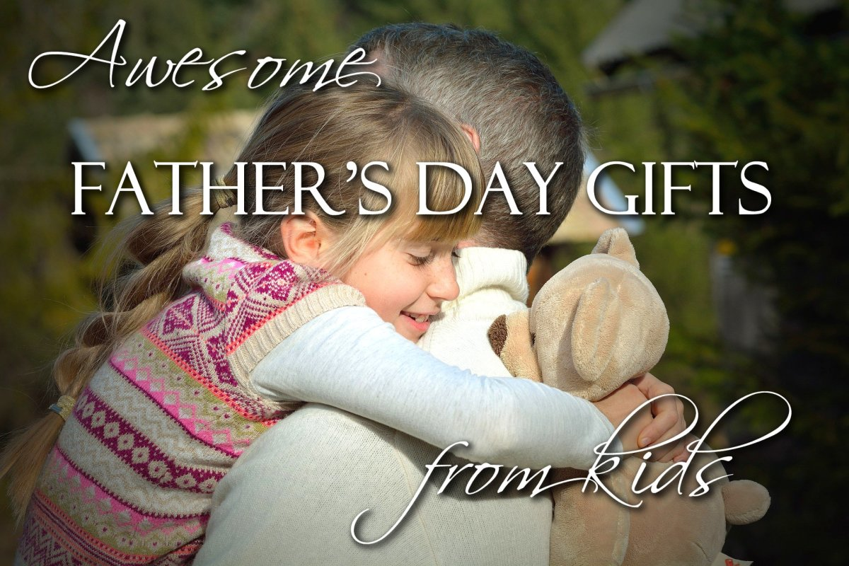 Awesome Father's Day Gifts Kids and Moms Can Make