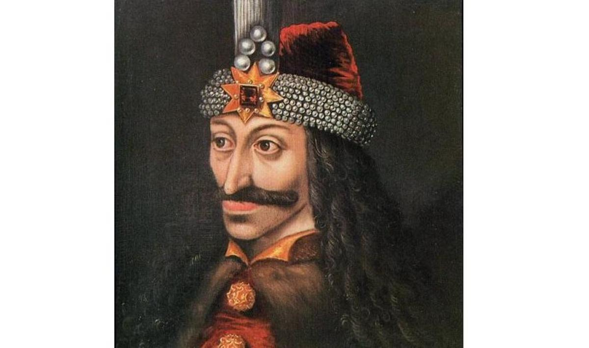 A 1560 painting of Vlad the Impaler. It is allegedly a copy of an original.