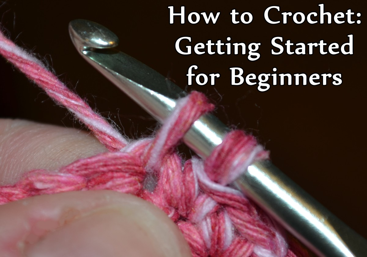 How To Crochet For Beginners : How to Crochet: Getting Started for Beginners FeltMagnet