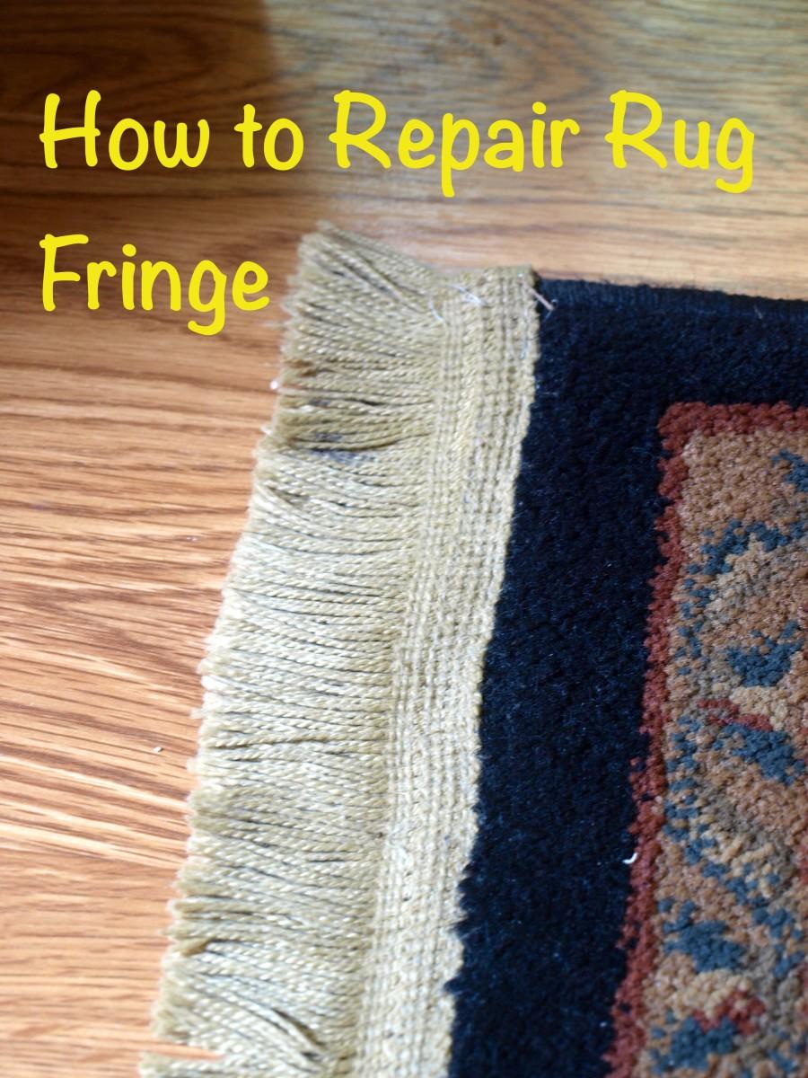 How To Repair Rug Fringe Dengarden