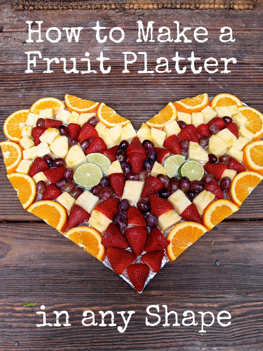 Create a beautiful fruit platter in any shape with these easy instructions.