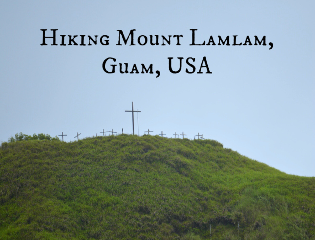 Hiking Mount Lamlam, Guam, USA