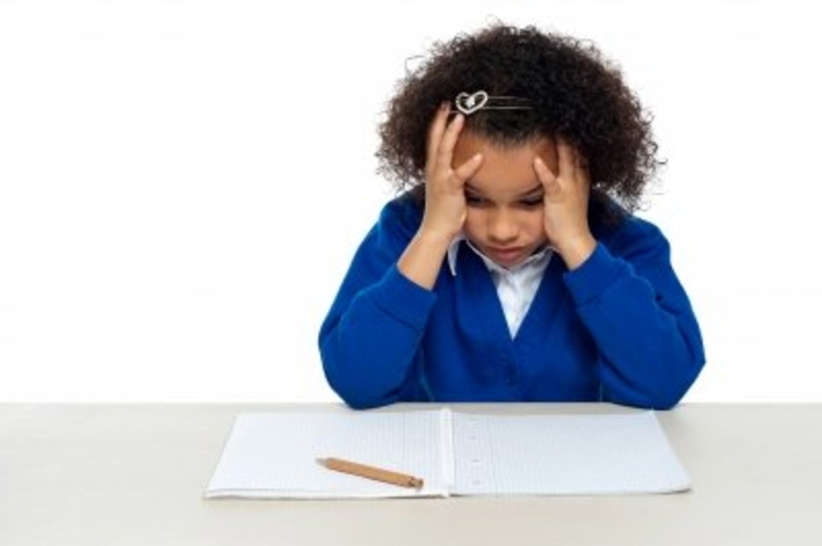 Children who are bullied may dread going to school.