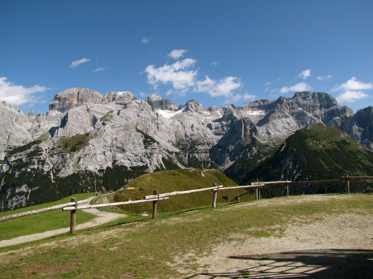 Brenta Dolomites above Pinzolo