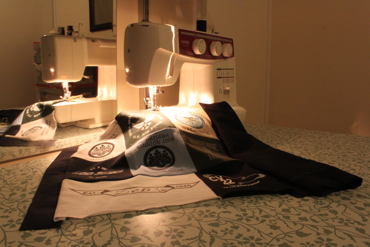 How To Make A T Shirt Quilt For Beginners A Step By Step