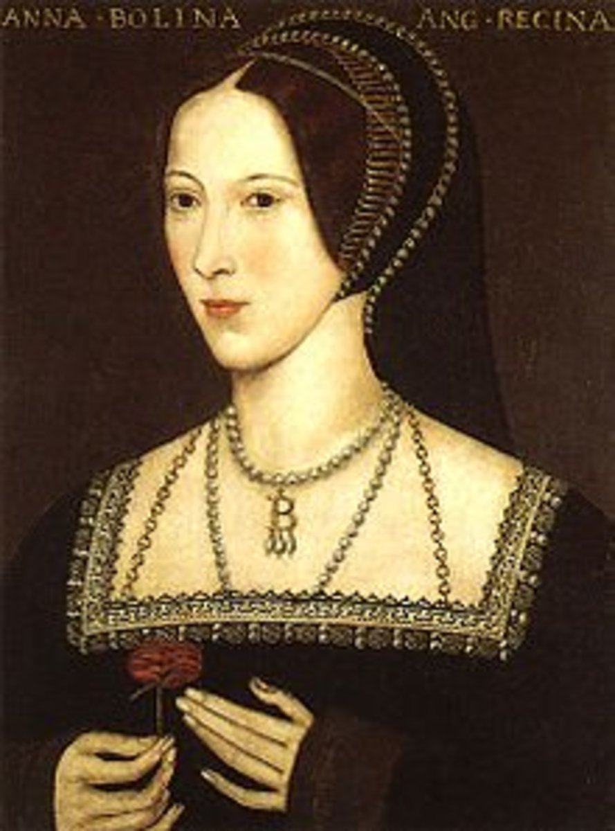 The second wife of Henry VIII, Anne Boleyn