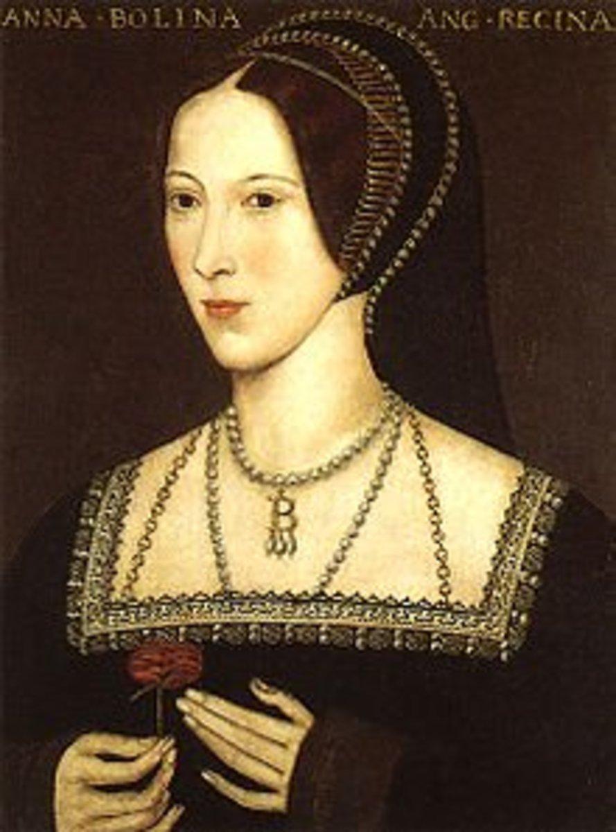 The second wife of Henry VIII, Anne Boleyn