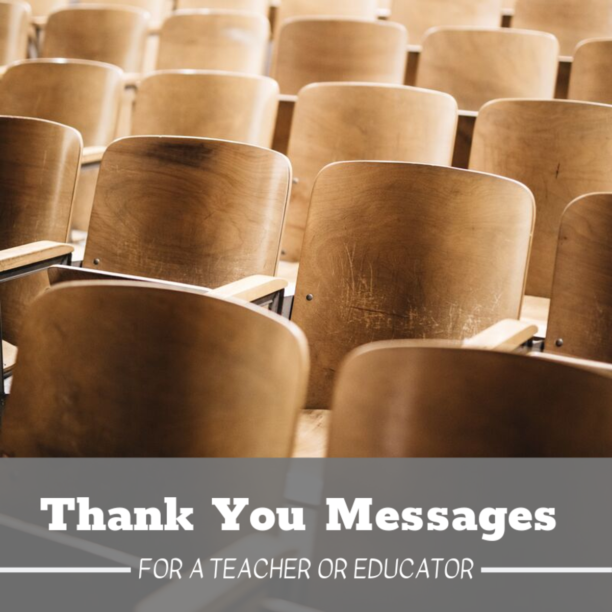 Teachers are some of the most under-appreciated figures in our lives. Let's thank them for helping shape us into the individuals we've become.