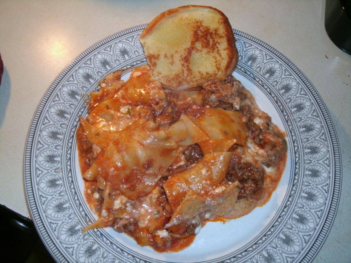Delicious and Easy Skillet Lasagna