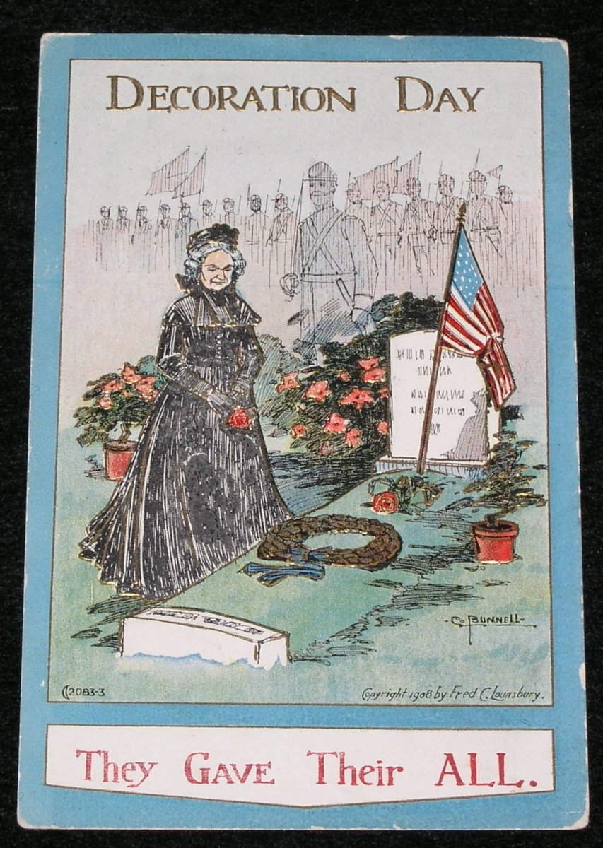 Photo of an Antique Postcard