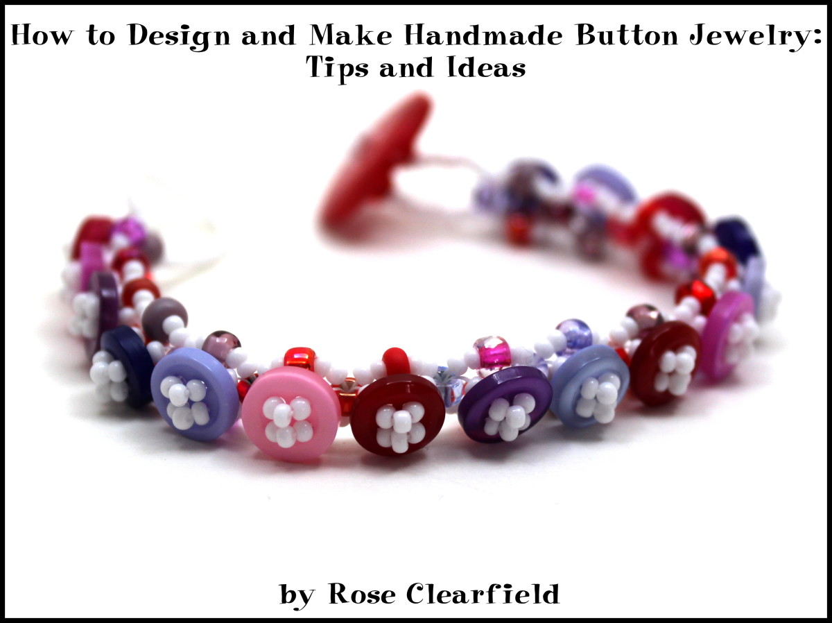 How to Design and Make Handmade Button Jewelry: Tips and Ideas ...