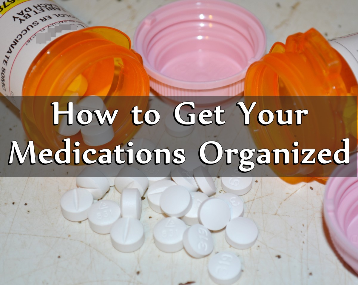 how to get your medications organized healdove. Black Bedroom Furniture Sets. Home Design Ideas