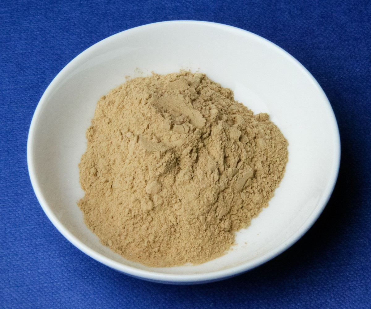 Medicinal clay is often sold as a powder.