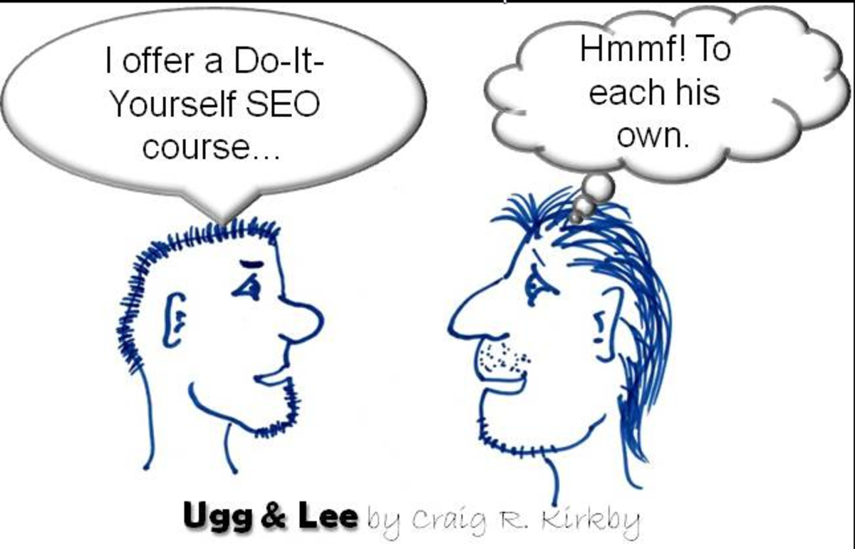 Just personal opinions and info gained through my sites and those of my clients. Each person has their own view - This article is just a starting point, SEO is something you learn yourself.