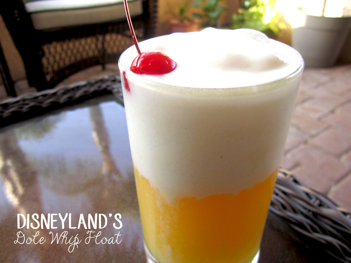 Disneyland's Dole Whip Float