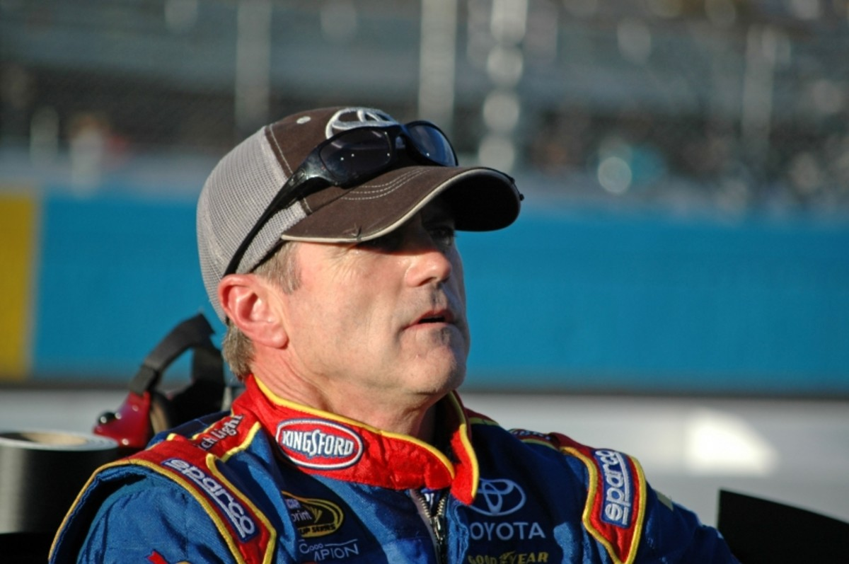 With A.J. Allmendinger set to replace him at JTG Daugherty, Bobby Labonte faces an uncertain future