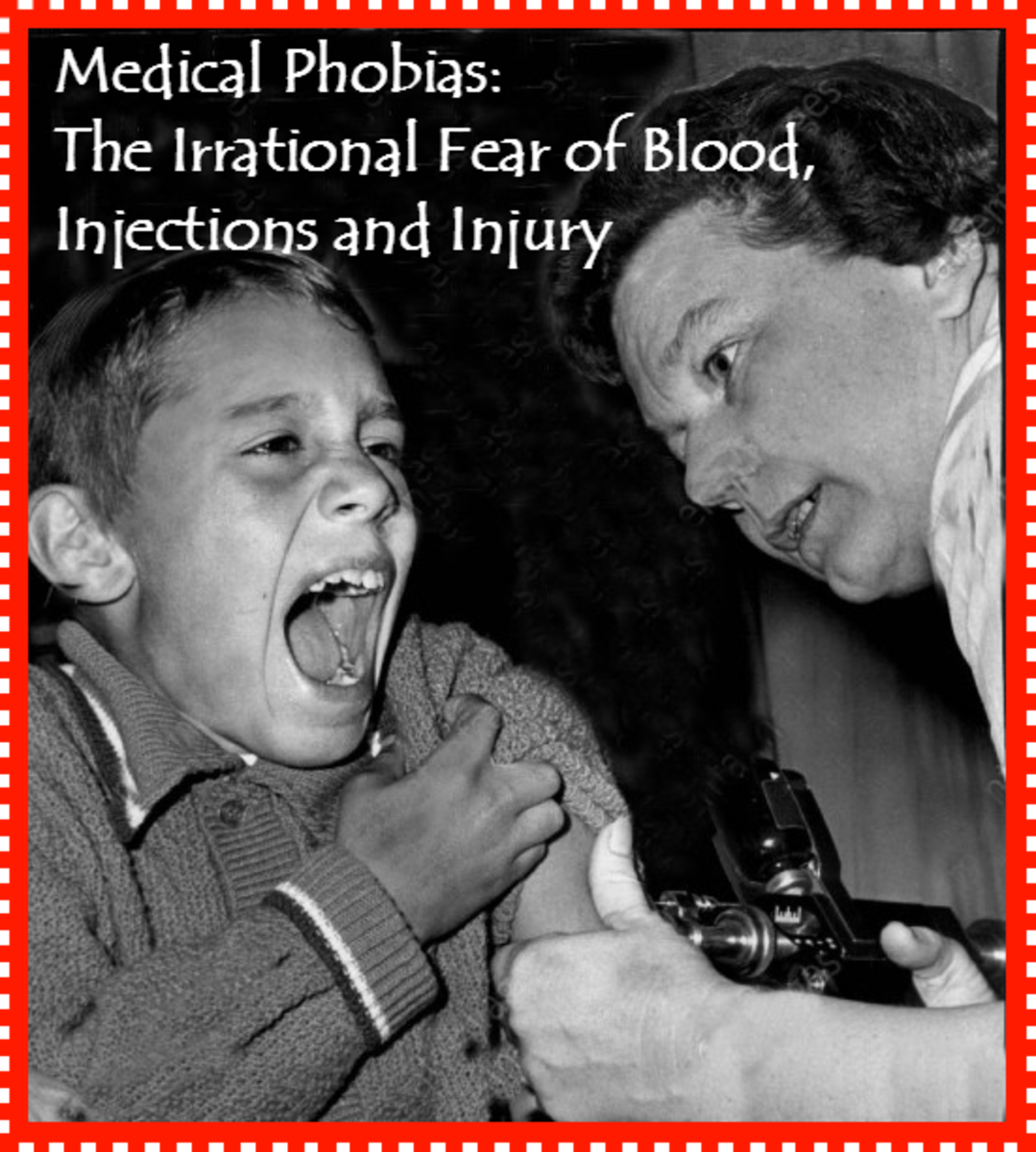 Medical Phobias:  The Irrational Fear of Blood, Injections, and Injury