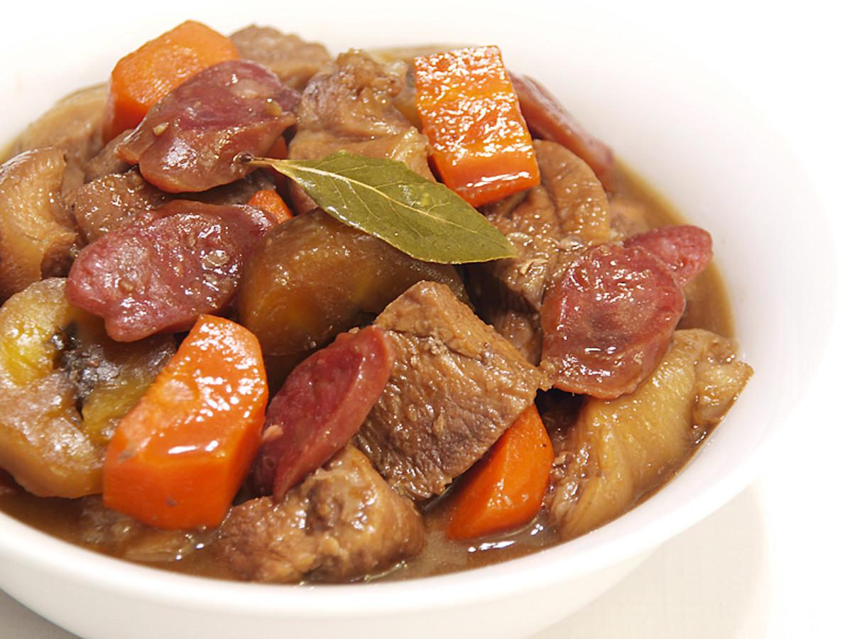 Filipino Cuisine: Pork Estofado is an Ilonggo especialty