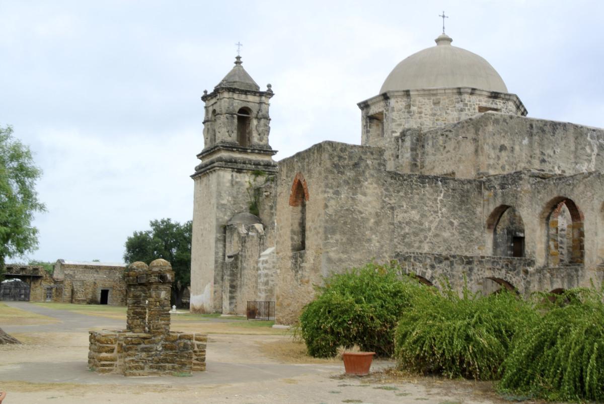 Mission San José in San Antonio, Texas