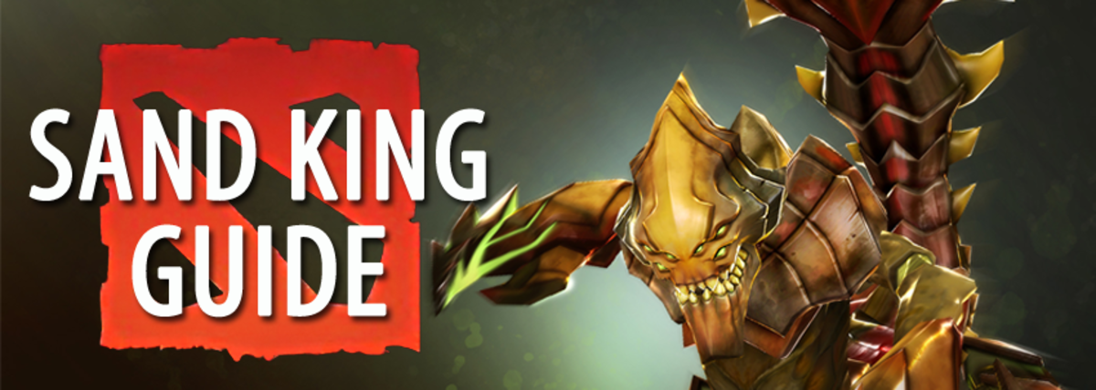 Dota 2 Item and Build Guide: Sand King (Crixalis)