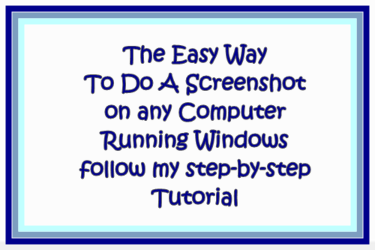 How Do You Do a Screenshot on a Windows PC Computer?