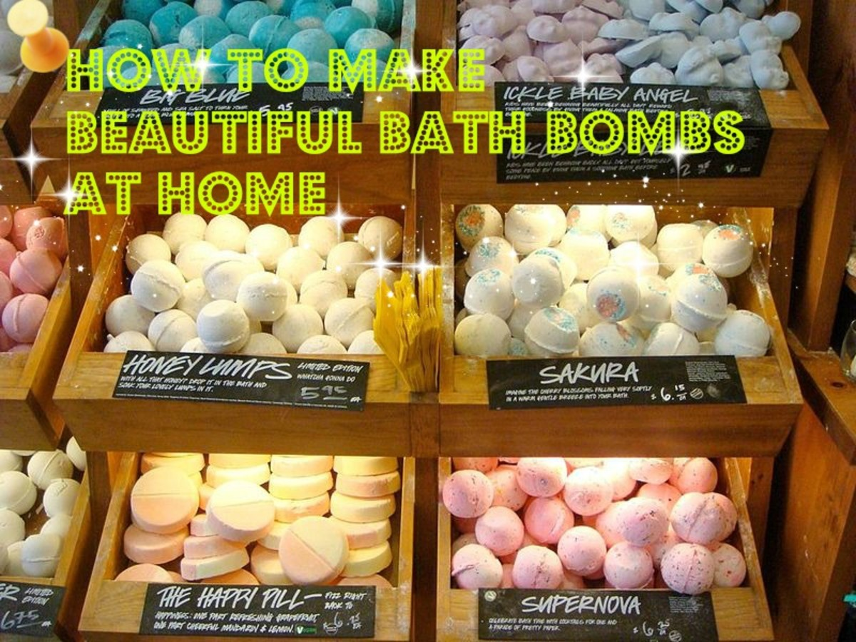 These bath bombs look so nice I could eat them! This hub will teach you how to create bath bombs like these.