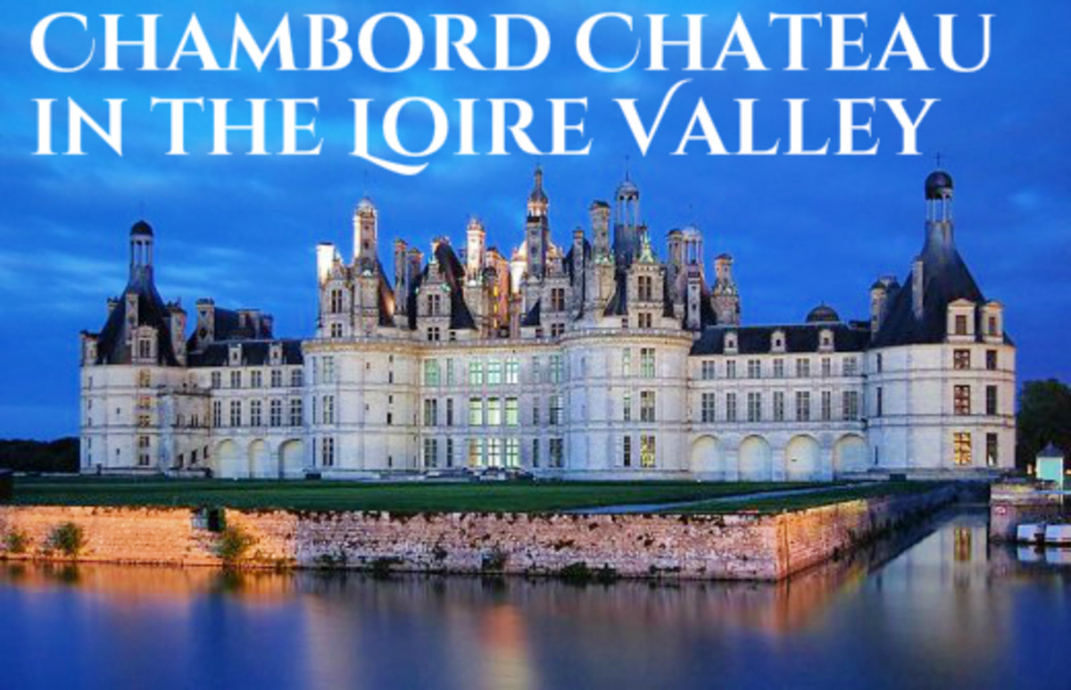 King Francis took great interest in the construction of Chambord which began in 1519.  He died in 1547.  The castle was still incomplete after 28 years.