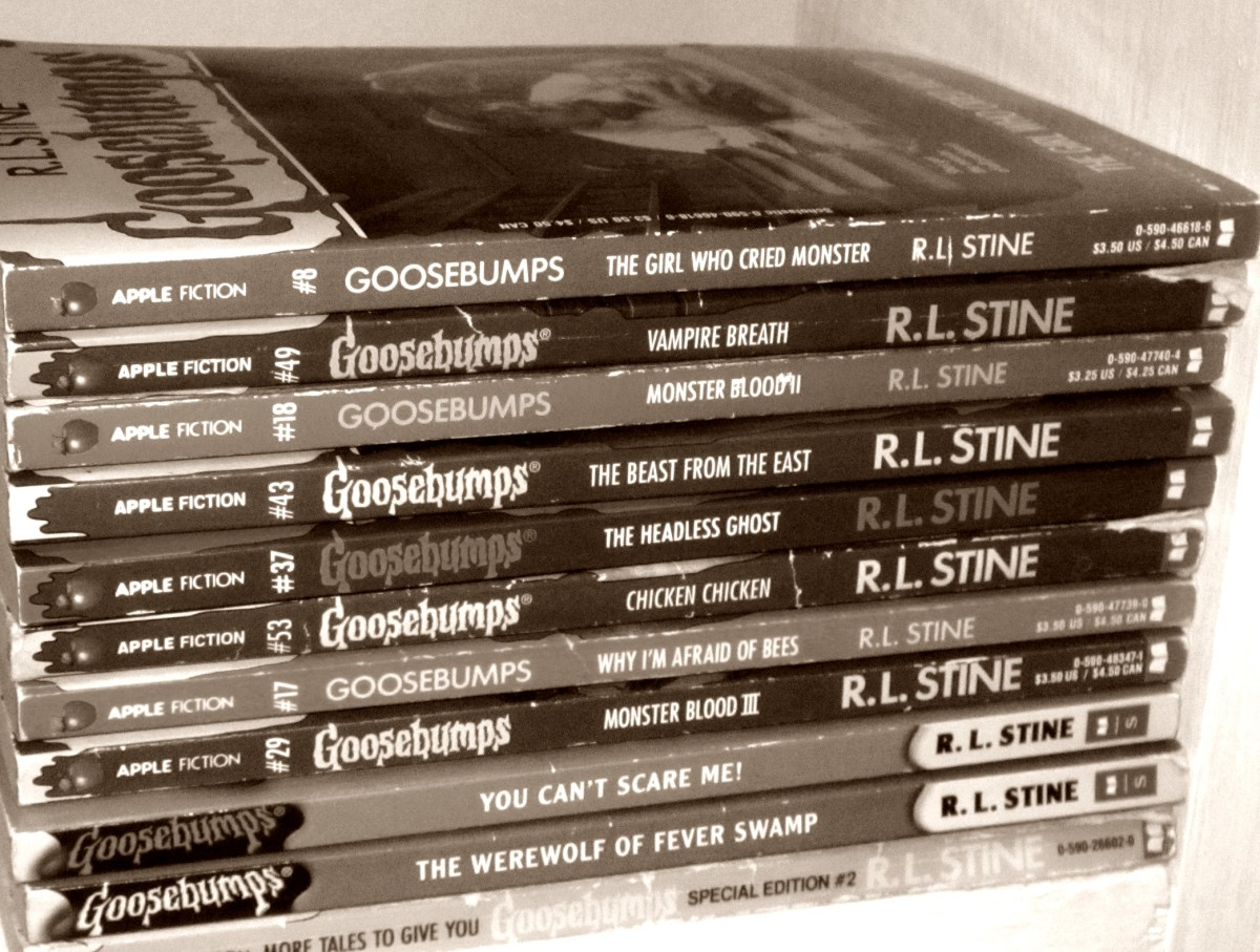 I think every kid of the 90's read at least one Goosebumps book growing up!