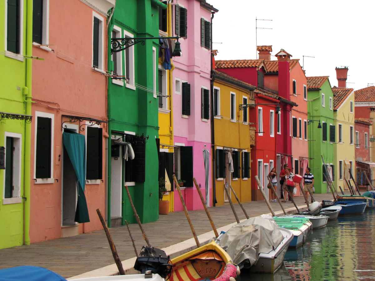 The Colorful Homes of Burano