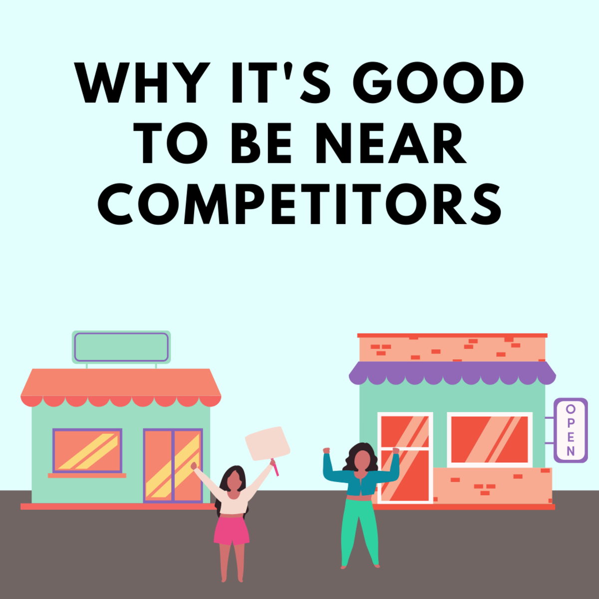 Learn why it's beneficial to be near your competitors!