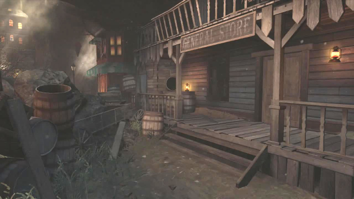 The General Store in Buried.