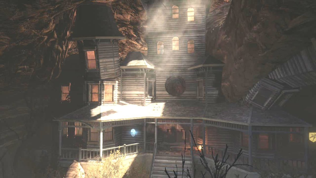 The Haunted Mansion in Buried - Call of Duty, Black Ops 2, Zombies