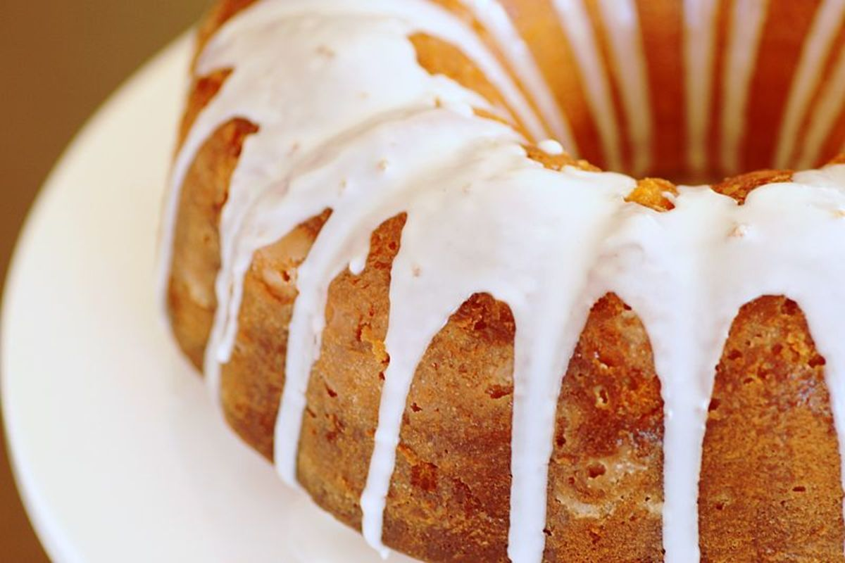Moist & Flavorful Rum Cake