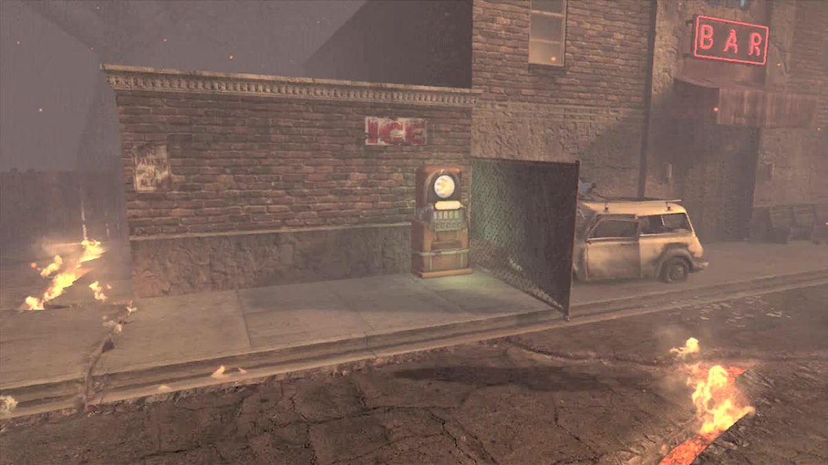 In Green Run Stamina Up is inside the Bar, but in Town Grief or Survival it is outside of the Bar.
