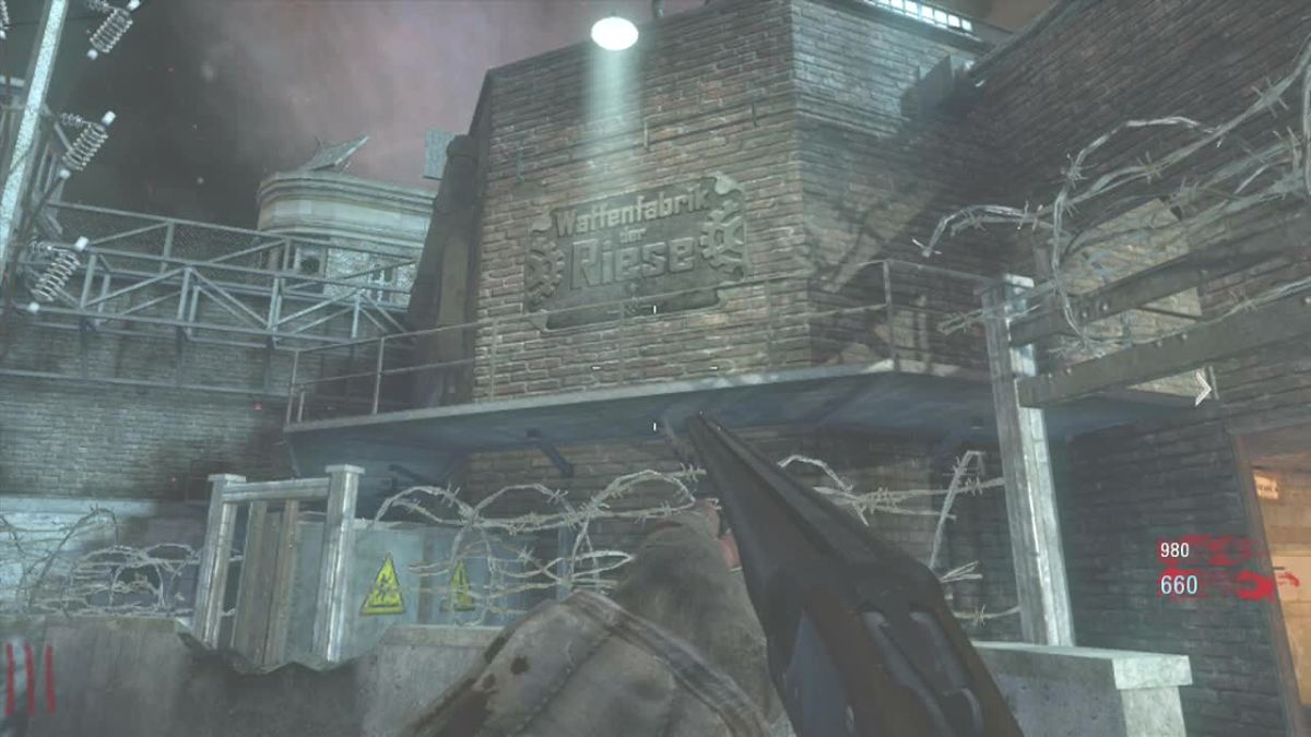 Die Rise, the map in the game and the facility where Die Glocke is thought to have been built.