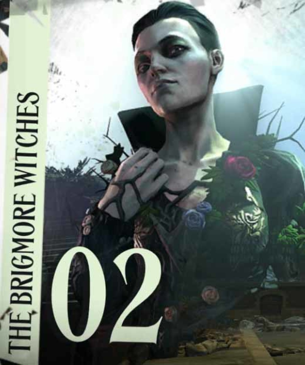 """""""Dishonored the Brigmore Witches"""" walkthrough begins."""
