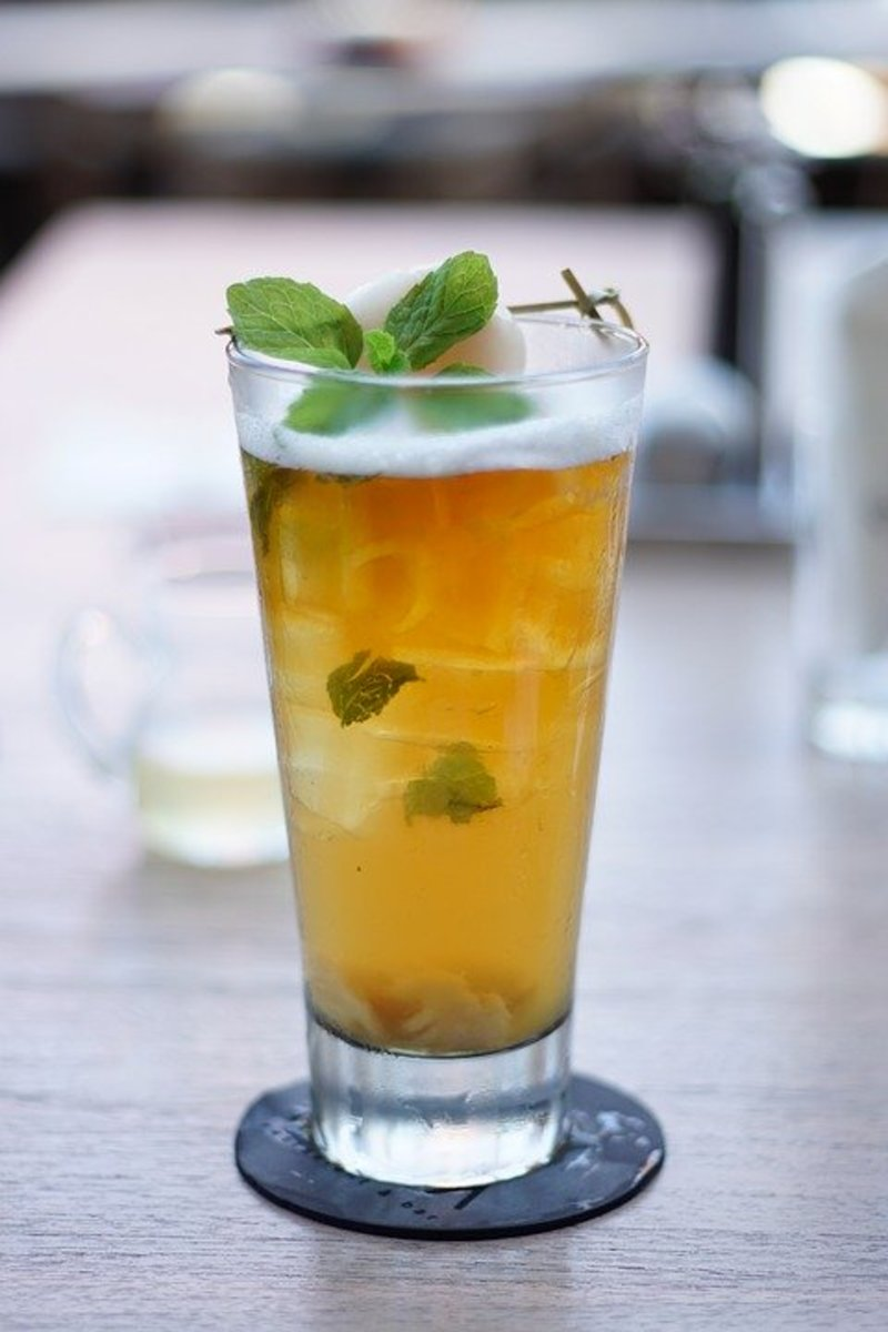 Mint Julep Iced Tea