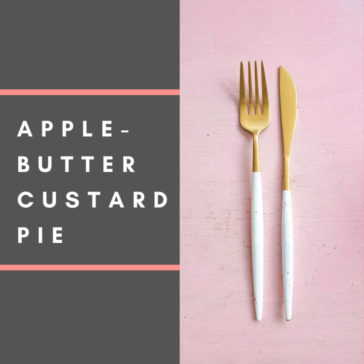 This apple custard pie is great for the whole family.