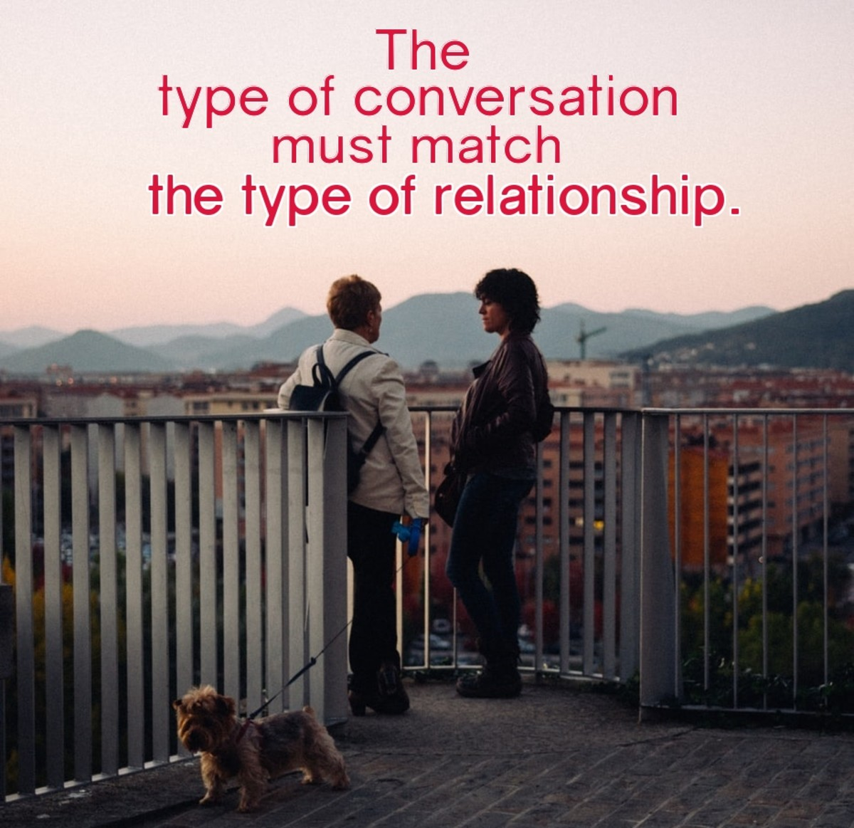 Conversation Types in Healthy Relationships