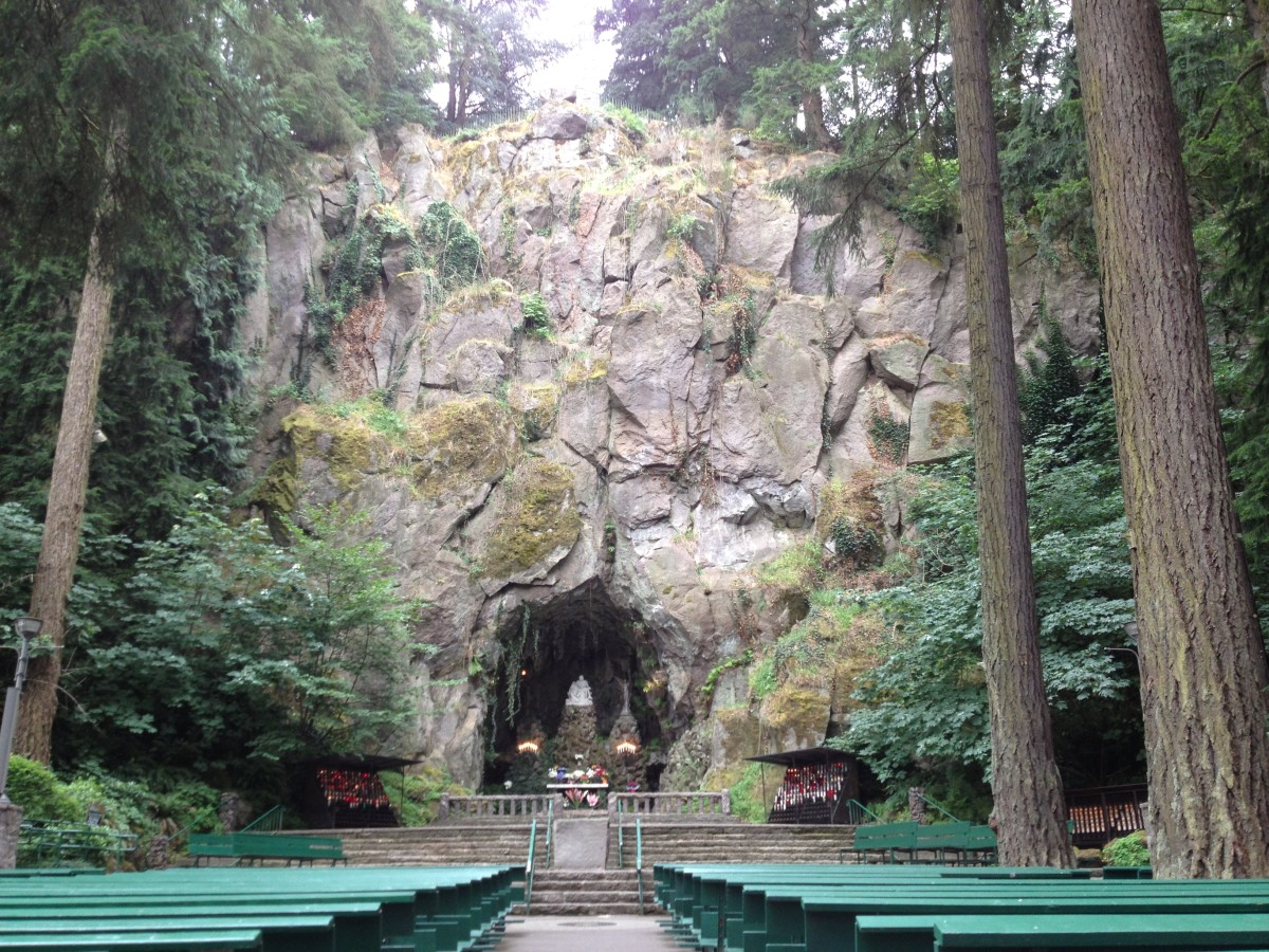 The Grotto in Portland, Oregon and a Young Boy's Promise to God