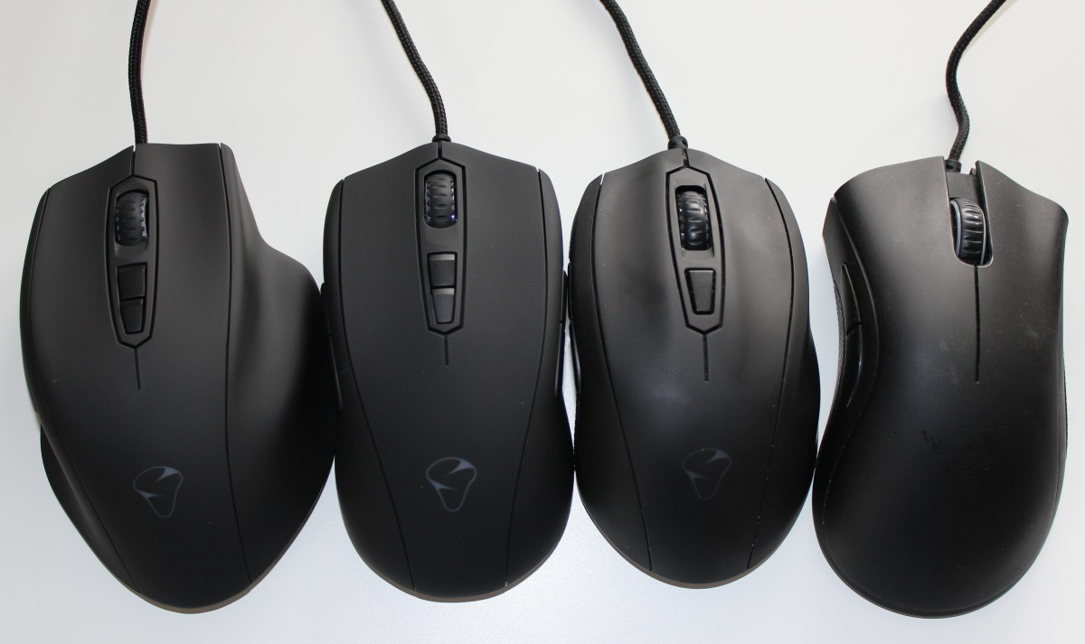 The DeathAdder (right) is a clear favorite for many gamers in the FPS and RTS space. Still, there are many alternatives that, in my opinion, are just as good.