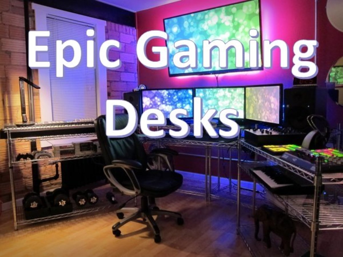 Looking for a good budget solution for a corner gaming desk? Here are a few options including 2 that are DIY.