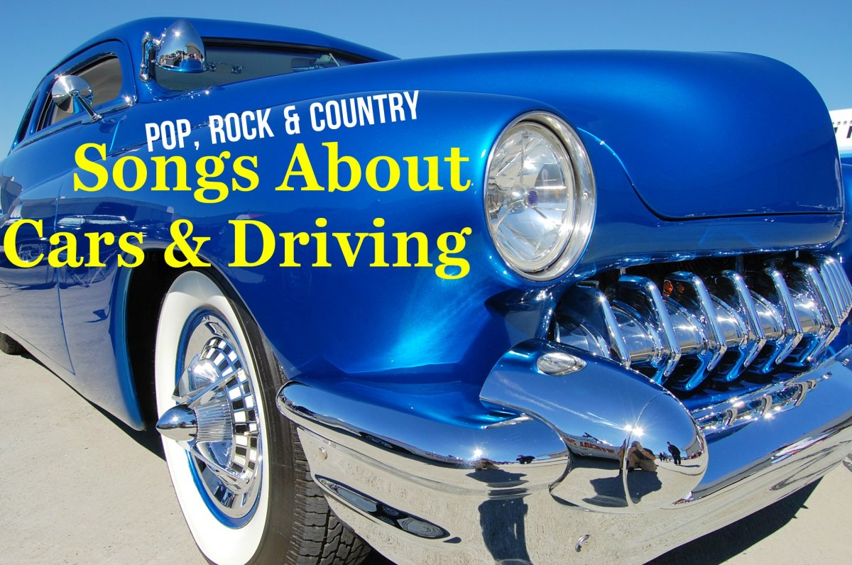 Cars represent freedom and youth for many Americans. Celebrate the automobile with a customized playlist.  We have a long list of pop, rock, and country songs about cars and driving to get you started.
