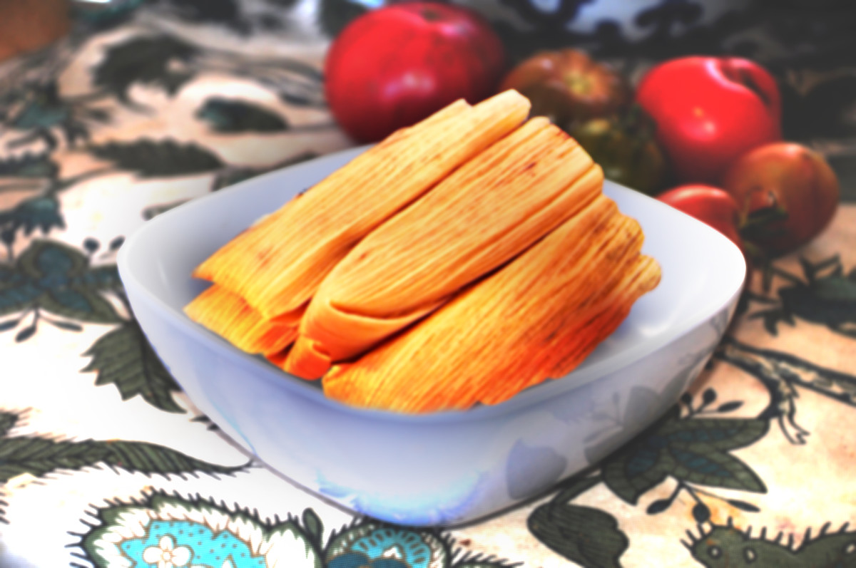 How to make tamales in the microwave.